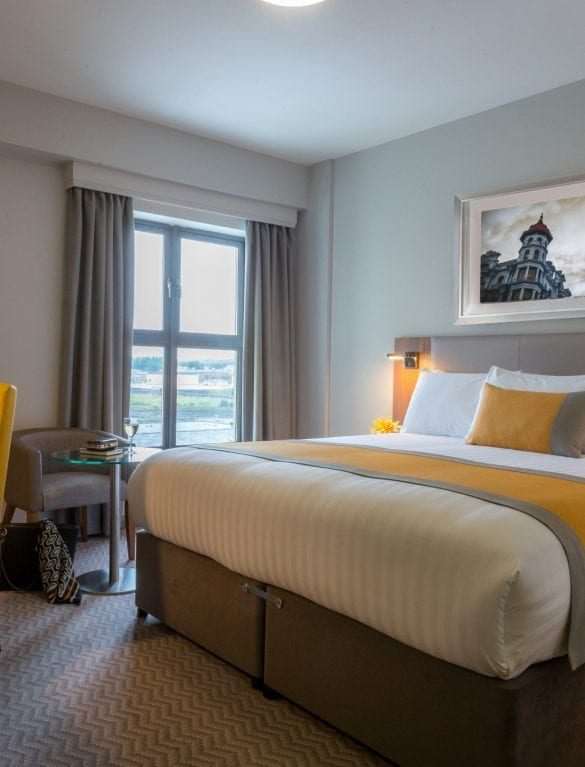 Maldron Hotel Derry comfortable double room